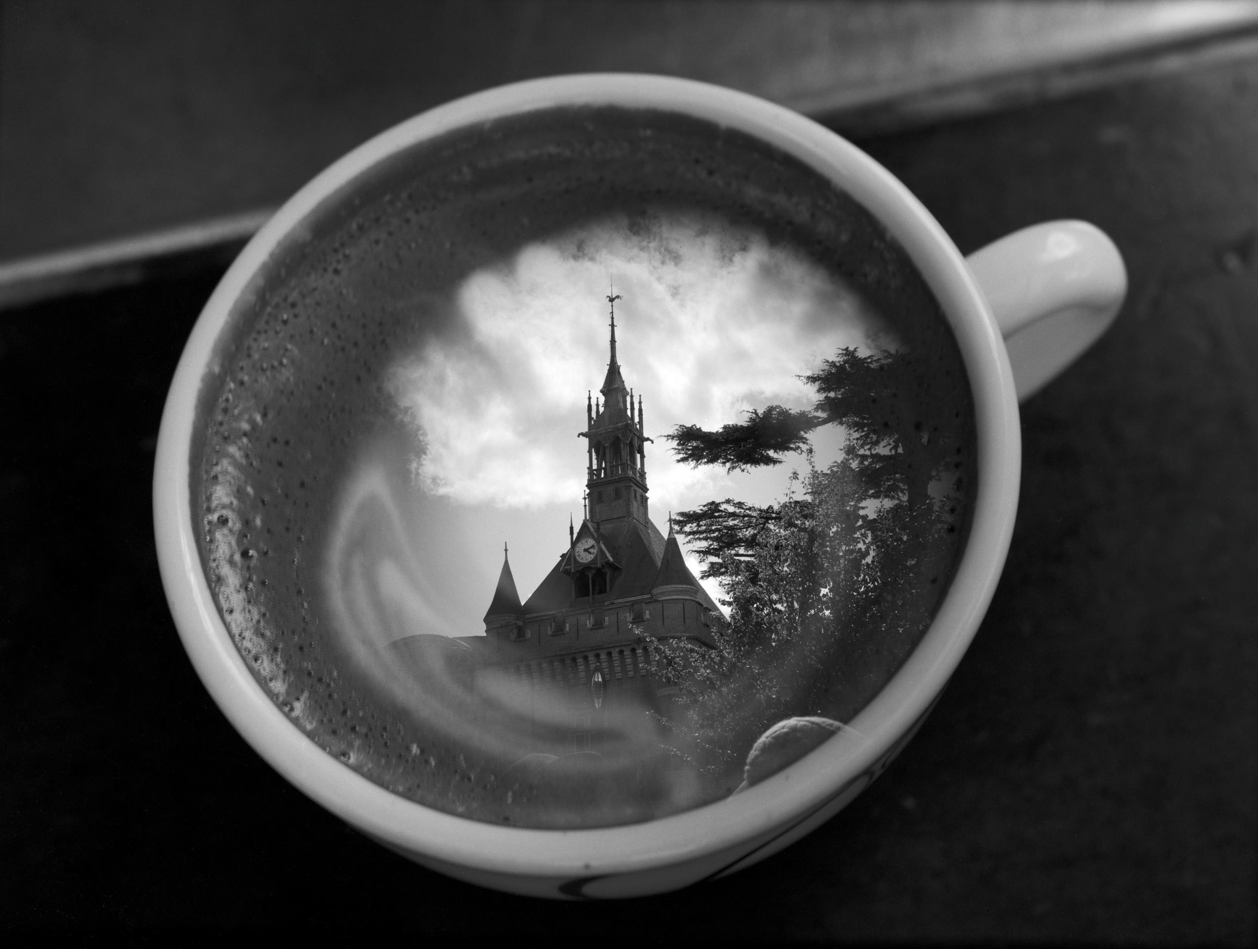 Coffee au Donjon | Copyright David Allen
